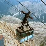 02-14-2018 Cortina d'Ampezzo, Funivie Tofana Freccia nel Cielo