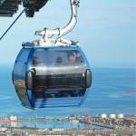 Batumi sul Mar Nero: Una cabinovia Doppelmayr per i divertimenti