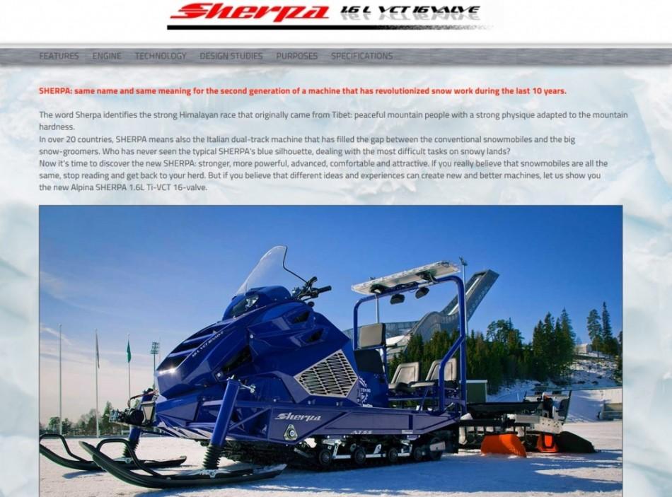 alpina sherpa