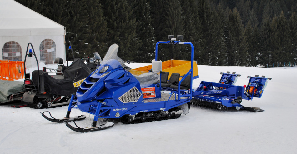 Sherpa_with_F250 snowtiller