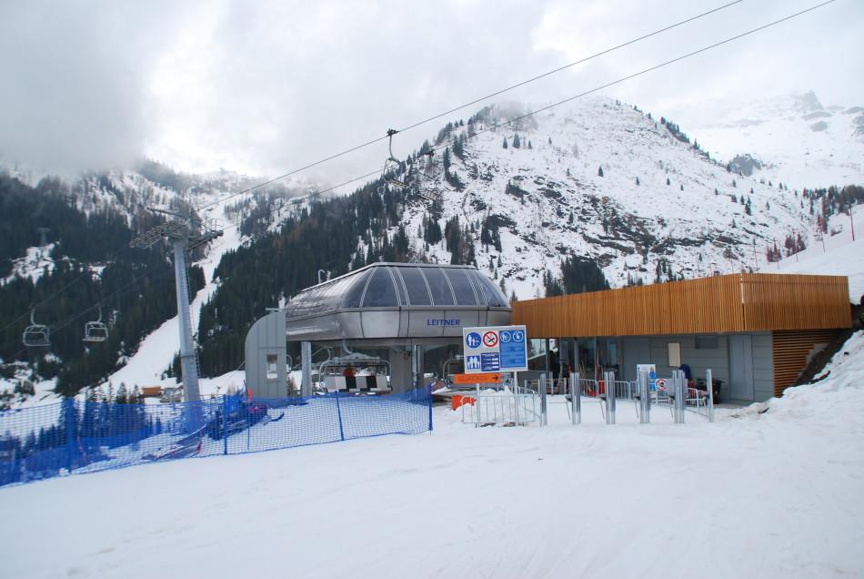 Stazione motrice lato Burz