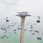 02-05-2018 Doppelmayr apre la funivia più lunga del mondo, la 3S Hòn Thom in Vietnam collega due isole