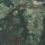 10-10-2018 Monte Cavallo, ok a variante a nuova pista da sci verso valle
