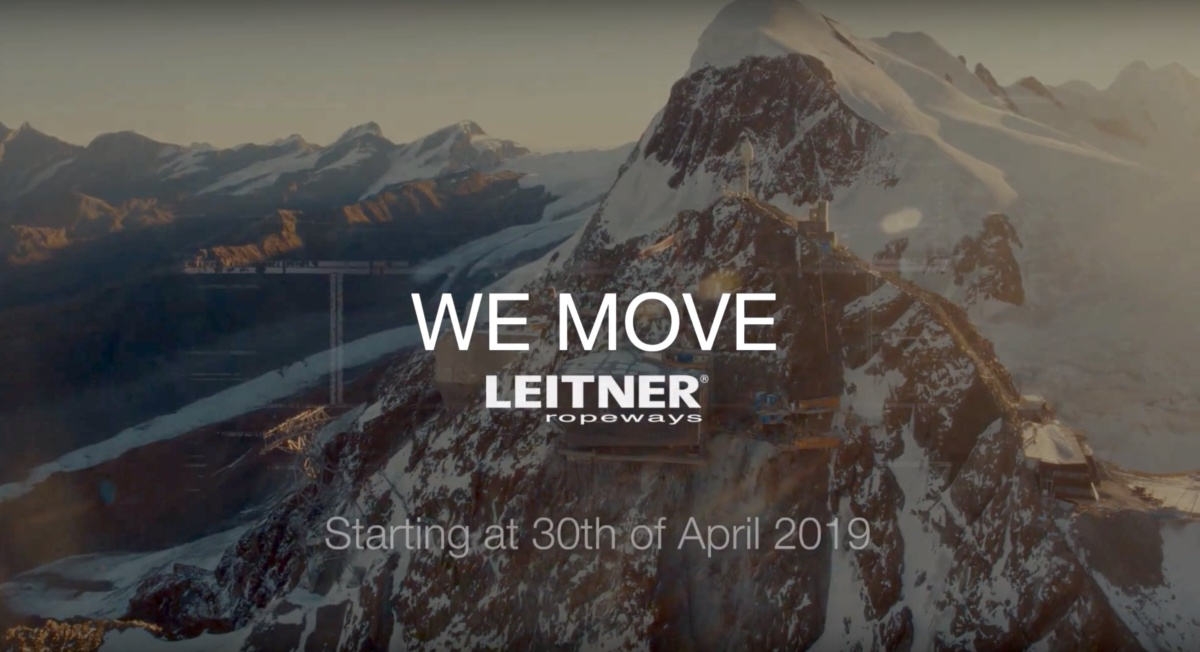 "Leitner ""We Move"": quando le funivie diventano passione"