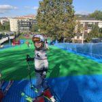 Gli studenti della scuola statale Tito Speri e Quintino di Nova sciano su pista sintetica Neveplast