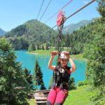 A Sauris la più lunga zipline d'Europa sopra il lago