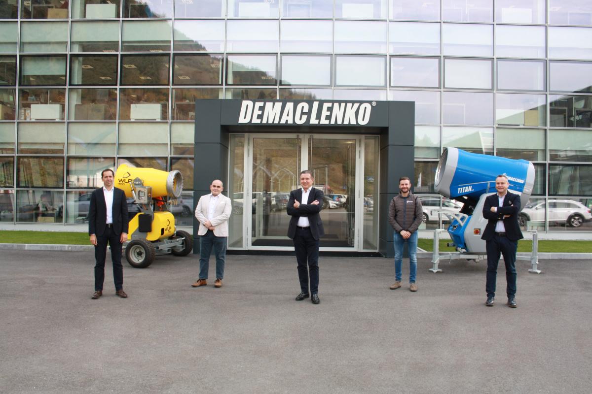 DEMACLENKO fonda insieme a WLP una nuova azienda: WLP Systems