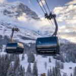 "Grindelwald, Cabinovia 3S Doppelmayr ""Eiger Express"" sulla Jungfrau"