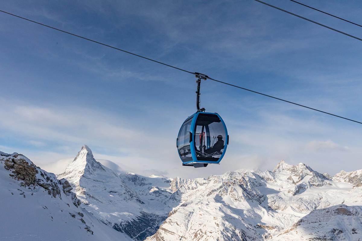 Inaugurata a Zermatt la prima funivia Doppelmayr AURO con stazioni ad elevata automazione