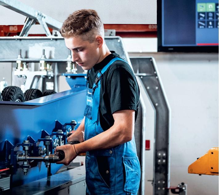 Supporto digitale alla produzione negli stabilimenti Doppelmayr di Wolfurt