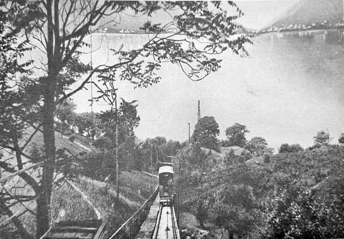 Perledo, la storica funicolare di Regoledo