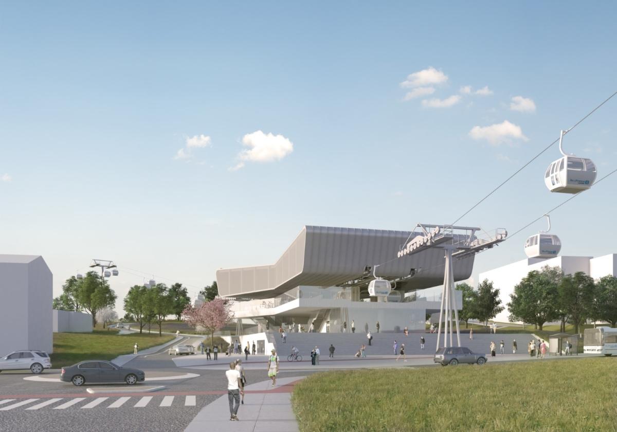 Doppelmayr si aggiudica il contratto per la cabinovia urbana nell'area metropolitana di Parigi