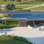 Funivia per l'Esposizione Federale dei Giardini di Mannheim 2023