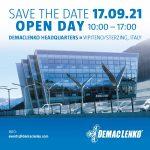 Open Day DemacLenko il 17 settembre 2021