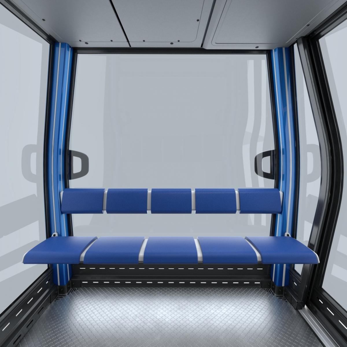 Diamond EVO: la cabina LEITNER Premium con un tocco d'individualità in più